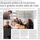 """El Mercurio Constance Flanagan """"La participación política de los jóvenes comienza a gestarse mucho antes de votar"""""""
